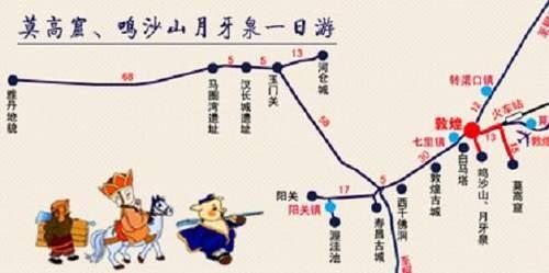 手绘板新疆旅游路线图