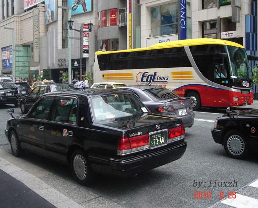 大家嬉称在日本坐出租车好比国内坐飞机