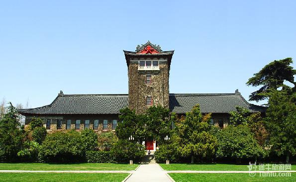 中国著名大学风景高清图 南京大学大图