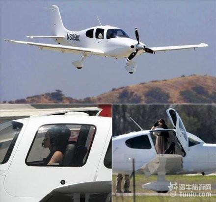 明星富豪们的私人飞机(多图)