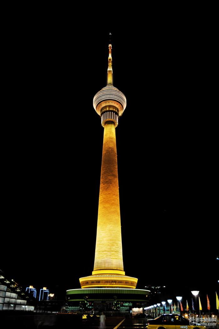 中央电视塔俯瞰北京全景