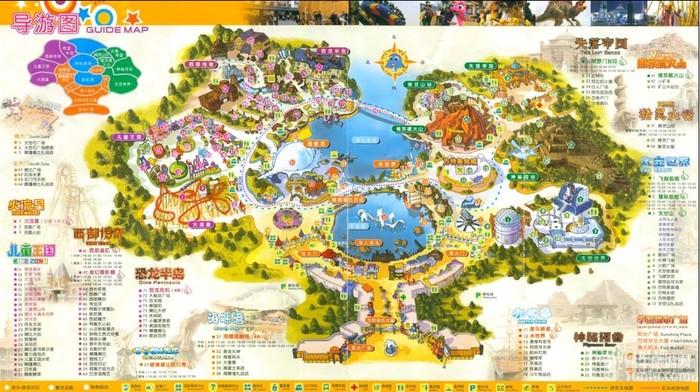 方特旅游路线图