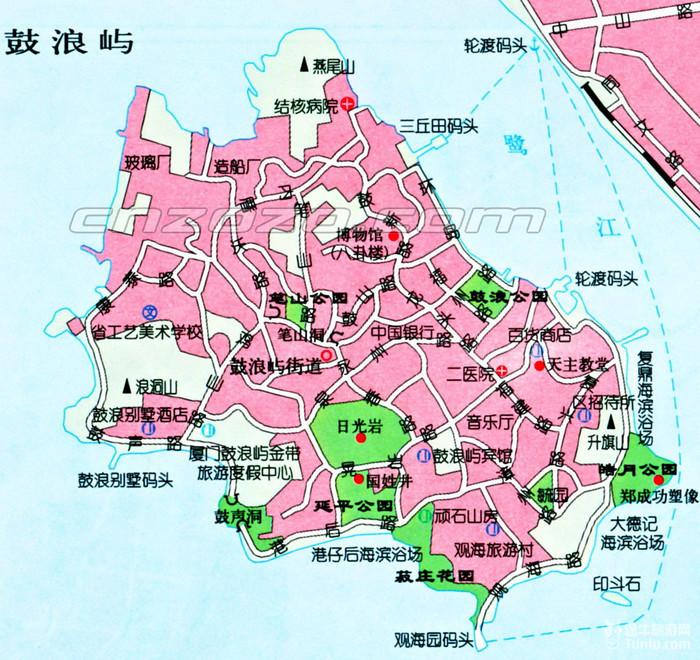 科技馆手绘地图