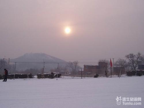 黑龙江哈尔滨市宾县二龙山风景区内
