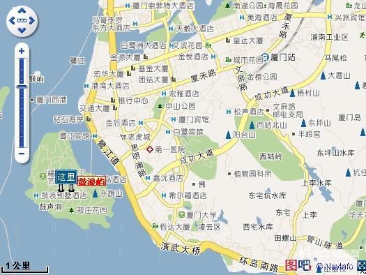 距离厦门长途汽车站不到3公里