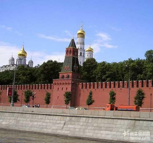 俄国的标志 克里姆林宫