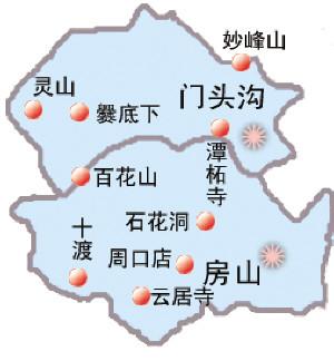 【房山旅游攻略】房山旅游地图