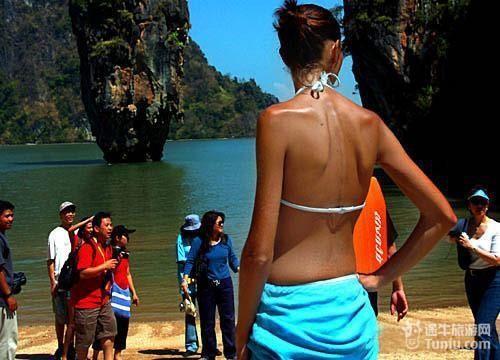 泰国海边旅游穿衣打扮