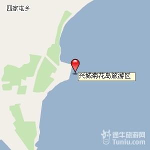 【菊花岛旅游攻略】菊花岛旅游地图