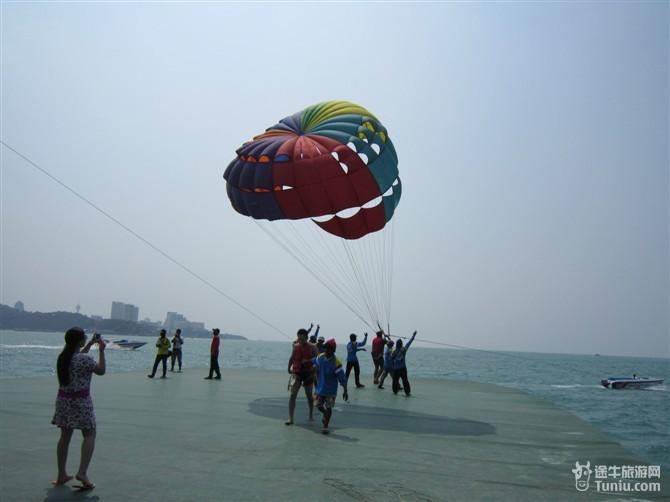 降落伞,玩去吧,飞翔在天空哦