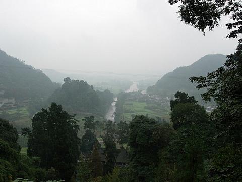 鹤鸣山图片