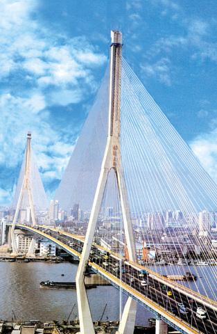 杨浦大桥 上海 杨浦 杨浦大桥2