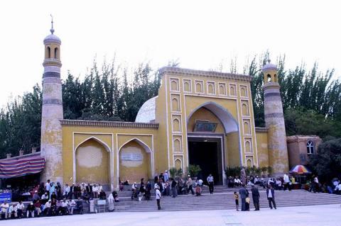 更多艾提尕尔清真寺图片...