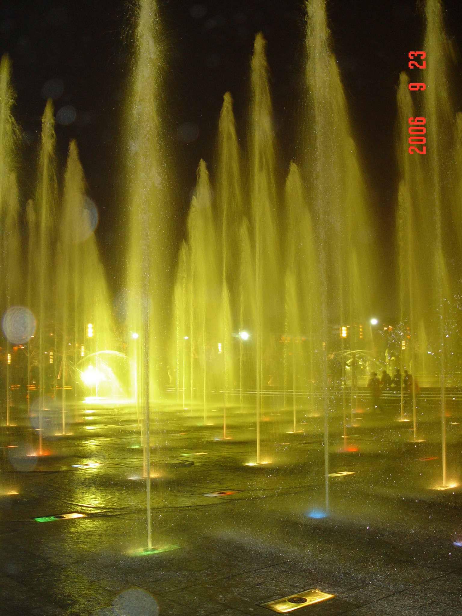 大雁塔北广场音乐喷泉