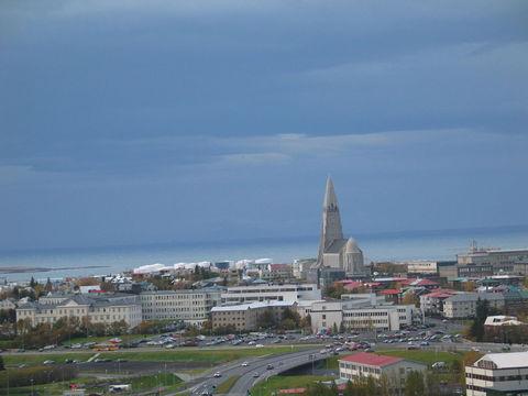雷克雅未克大教堂_欧洲冰岛雷克雅未克大教堂