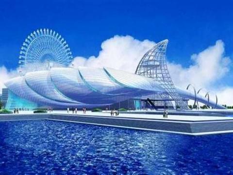 天津海昌极地海洋世界效果图