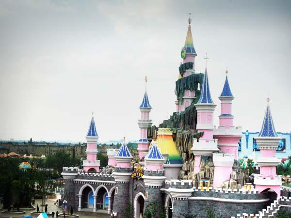 魔法城堡卡通