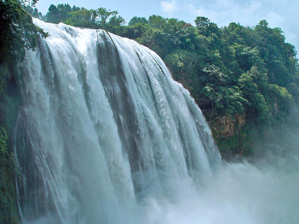 黄果树旅游景区 源于瀑布,大于瀑布 高清图片