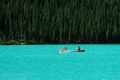 加拿大西海岸国家公园9日>班芙国家公园,洛基山脉的蓝宝石