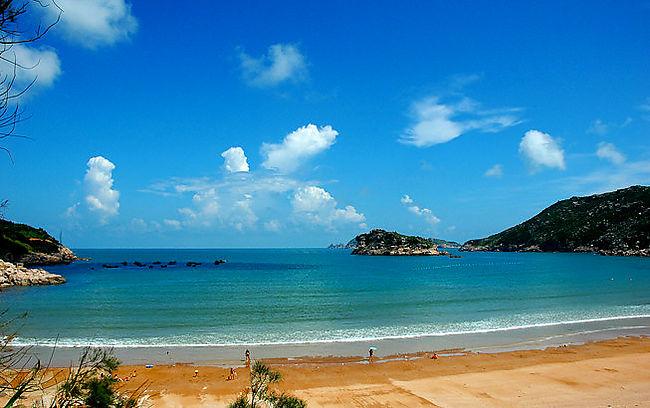 7月22-25日浙江南麂列岛,避暑,海滩,踏浪!