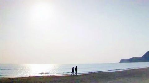 海边漫步 照片描述大连市长海县广鹿岛东海