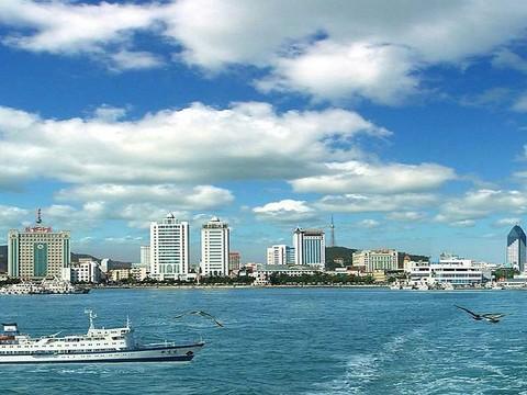 威海市区高清图片