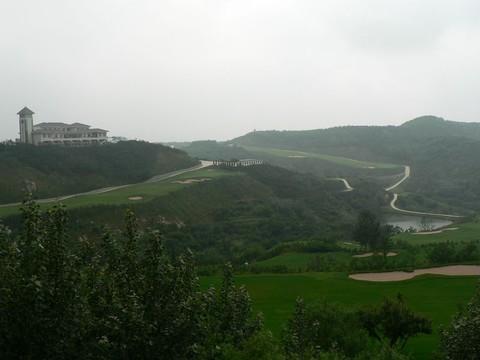 龙口南山景区高清图片