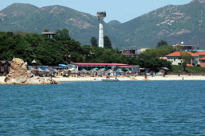 兴城海滨;; 珠海海滨浴场;