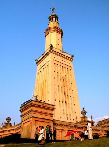 亚历山大灯塔的照片/埃及