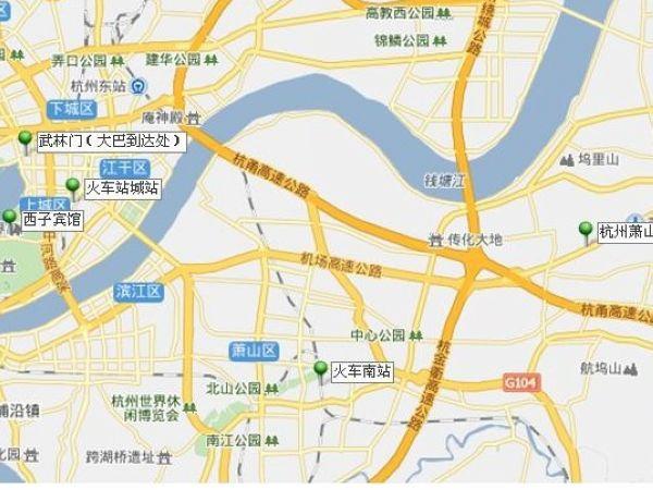南京 苏州 乌镇地图