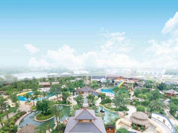 海岛温泉度假村,意欲打造顶级休闲养身,多功能,高端露天浪漫海洋温泉