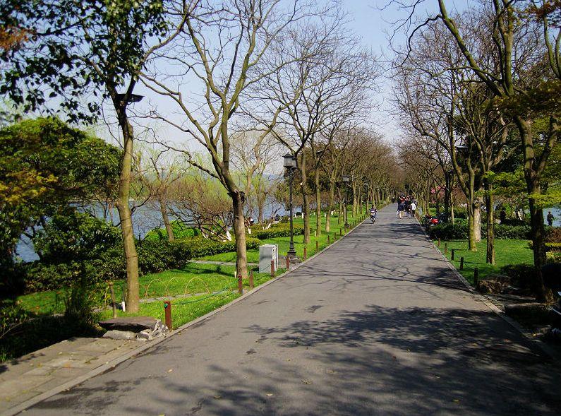 """5小时); 景点:西湖 西湖:""""天下西湖三十六,就中最美是杭州"""",杭州西湖"""