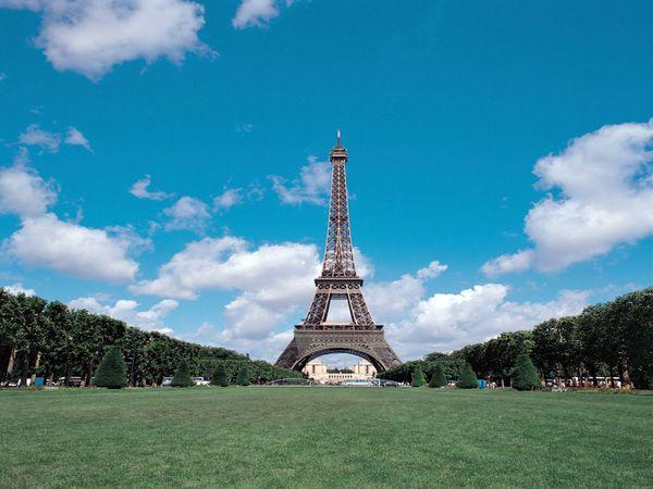 景点-卢浮宫 埃菲尔铁塔