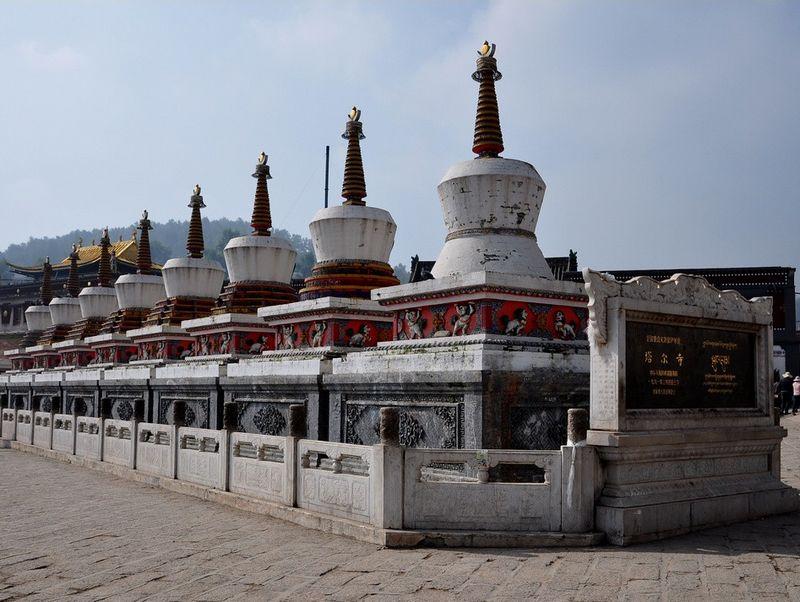 """塔尔寺:藏语称""""衮本贤巴林"""""""