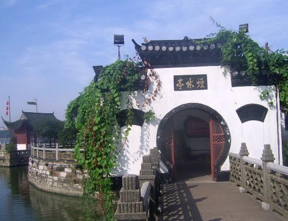 (14)  长隆野生动物园  (10)  杭州宋城   烟水亭位于九江市长江南岸